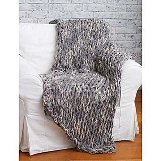 Ravelry Arm Knit 3 Hour Blanket Pattern By Bernat Design