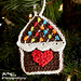 Gingerbread House Ornament pattern