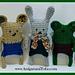 Critter Bits Yarn Busting Gang pattern