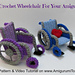 Crochet Wheelchair pattern