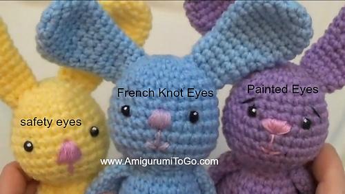 positioning amigurumi eyes | PlanetJune by June Gilbank: Blog | 282x500