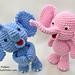 Little Bigfoot Elephant 2014 pattern