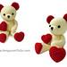 Valentine Teddy Bear pattern