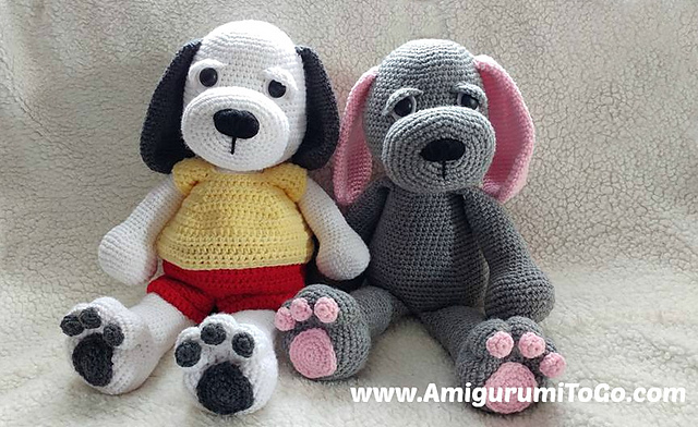 Cuddle Me Panda amigurumi pattern - Amigurumi Today | 392x640