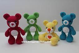Pin op Gehaakte teddyberen | 170x255