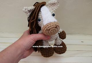Horse Amigurumi Crochet Tutorial Part 2 - YouTube | 220x320