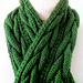 Connemara Plaited Knit Scarf pattern