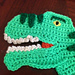 Dinosaur Trex Hat Applique pattern