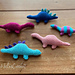 Mini dinosaurs pattern