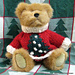 Yuletide Teddy pattern