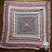 A Little R + R Blanket + Baby Blanket pattern
