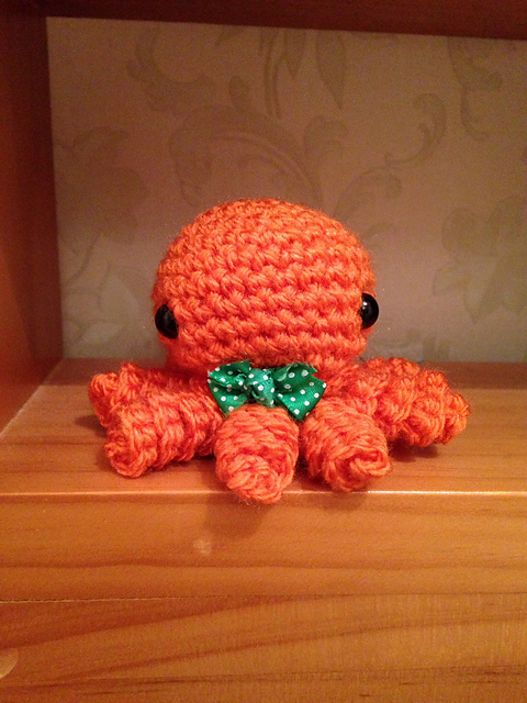 Mini Amigurumi Octopus Free Crochet Pattern | Styles Idea | 640x480
