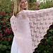 Luna Moth Shawl pattern