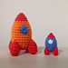 Toy Rocket Ship pattern