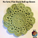 No Sew Roll Up Rose Tutorial pattern