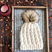 Faux Cable Knit Beanie pattern