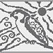 Spirit Falcon Knitting Chart pattern