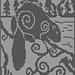Spirit Beaver Knitting Chart pattern