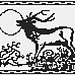 The Stag and the Moon pattern
