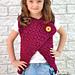 Madison Vest (Child Sizes) pattern