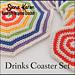 Drinks Coaster Set pattern