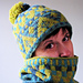 Euphorbia Hat and Cowl pattern