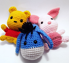 Winnie the Pooh and Friends Amigurumi • One's Creative Mind | 218x240