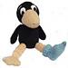 Merlin the Odd Sock Raven pattern