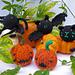 Halloween Baubles pattern