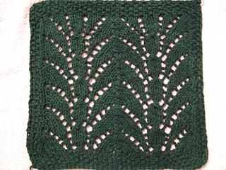 fountain lace cloth (blocking)