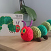 Hungry Caterpillar inspired soft toy pattern