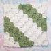 Diagonal Box Stitch Square 6x6 pattern