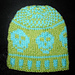 Happy Skull Hat for Little Pirate Girls and Boys pattern