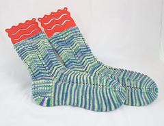 Carolina Calamity socks