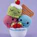 Adorable Ice cream pattern