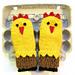 Chicken Mittens pattern
