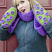 Tentacle Octopus Scarf Mittens pattern