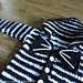 Hoodie for Baby - Skellington Cat pattern