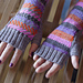 No Tricks All Treats Fingerless Mitts pattern