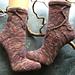 Wunsch Blatt Socken pattern