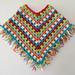 Fringed Baby Poncho pattern