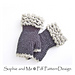 Fingerless Fur Gloves pattern
