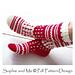 Norwegian style Tall Socks pattern
