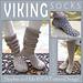 VIKING slipper socks pattern