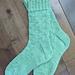 Butterfly Lane Socks pattern