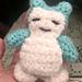 Snorlax Pokemon pattern