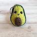 Avocado Keychain pattern
