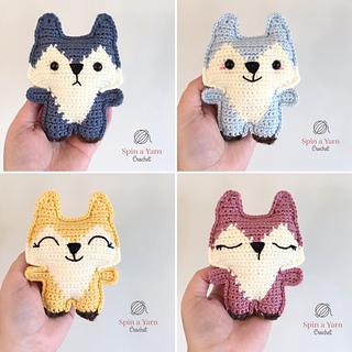 Ravelry: Fox Amigurumi, Mr. Furu pattern by Joanne Loh | 320x320