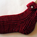 Button Down Socks pattern