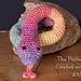 Hissy Snake Amigurumi pattern